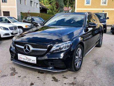 gebraucht Mercedes C220 d T Aut. *AMG-Line*NP: 64.285,-*1.Besitz*