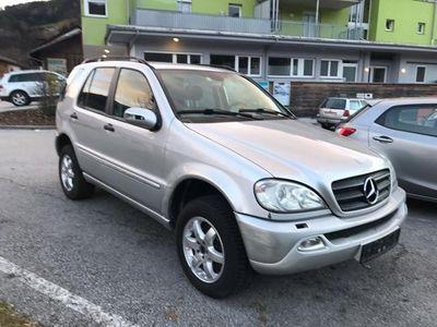 gebraucht Mercedes ML270 CDI Aut. / Facelift / Klima / Diesel / Allrad / ..