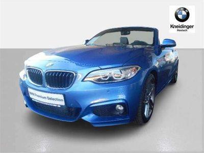 gebraucht BMW 220 2er-Reihe d Cabrio M Sport Aut. Cabrio / Roadster