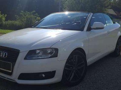 gebraucht Audi A3 Cabriolet 2,0 TDI Attraction DPF S-tronic