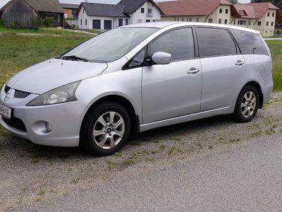 gebraucht Mitsubishi Grandis Intense 2,0 L DI-D 7 Sitzer Zahnriemen neu Kombi / Family Van