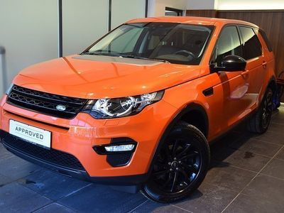 brugt Land Rover Discovery Sport 2,0 TD4 4WD Pure Pure