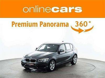gebraucht BMW 118 1er-Reihe i Aut. LED NAVI GARANTIE-BIS-21 LEDER TEMP S... Limousine