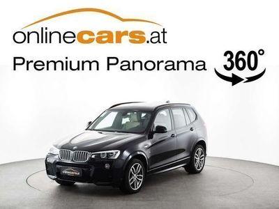 gebraucht BMW X3 xDrive30d Aut. M-Paket LED NAVI RFK SKY Ö.-Paket