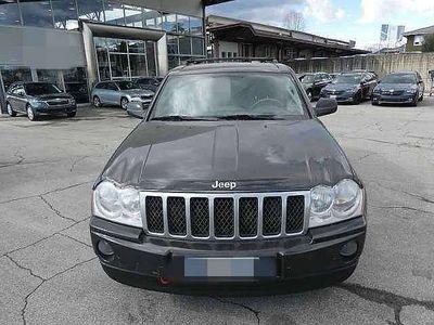 gebraucht Jeep Grand Cherokee 3,0 V6 CRD Overland *Navi*DVD*Leder*Sitzheizung* SUV / Geländewagen