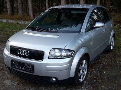 gebraucht Audi A2 1.4 TDI *75PS* Servicegflegt* Pickerl 06/2020 Klein-/ Kompaktwagen