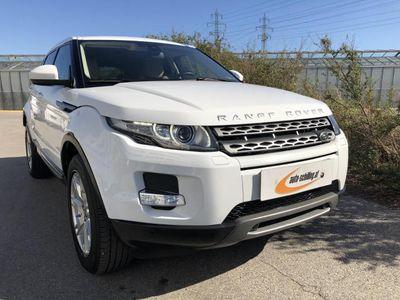 used Land Rover Range Rover evoque 2,2TD4 ALLRAD Xenon PDC Teilleder Service 1.Besitz