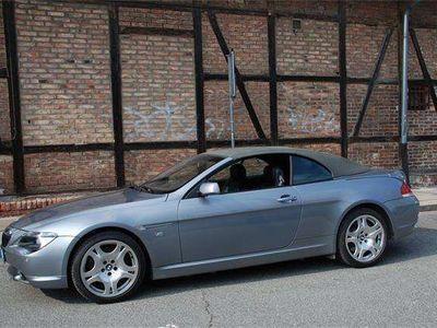 gebraucht BMW 645 Cabriolet 6er-Reihe Ci Cabrio Österreich-Paket Aut. / Roadster