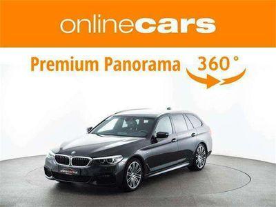 gebraucht BMW 530 5er-Reihe d xDrive M Sport Aut. RADAR AHK STANDHZG Kombi / Family Van