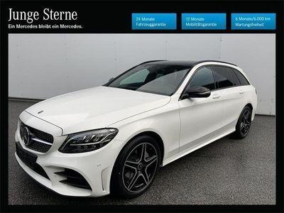 gebraucht Mercedes C200 T-Modell AMG-Line Aut.