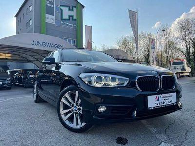 gebraucht BMW 118 d-Sport Aut.+Navi+LED-Scheinwerfer+Einparkhilfe