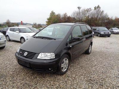 gebraucht VW Sharan V6+allrad lederausstattung+navigationssyestem