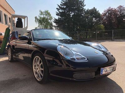gebraucht Porsche Boxster 2,5 l Cabrio / Roadster,