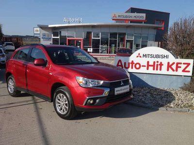 gebraucht Mitsubishi ASX 1,6 MIVEC Austria Edition ***Standheizung,AHK,8fach ALU*** SUV / Geländewagen