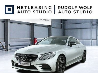 gebraucht Mercedes C300 d 4M Coupé AMG+Night+Comand+Pano+Multibeam
