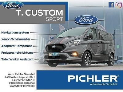 gebraucht Ford Custom TourneoL1 SPORT FACELIFT 2,0TDCi 185PS AUT. WOW AKTION