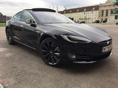 verkauft tesla model s s90d limousine gebraucht 2016 12. Black Bedroom Furniture Sets. Home Design Ideas