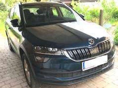 gebraucht Skoda Karoq Style LE TDI DSG SUV / Geländewagen