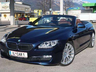 gebraucht BMW 640 Cabriolet 6er-Reihe i Cabrio Aut. EINZELSTÜCK, Nappa, B6O Sound, LED, VOLL !!! / Roadster