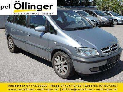 gebraucht Opel Zafira Elegance 2,0 16V DTI Kombi / Family Van