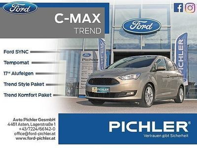 gebraucht Ford C-MAX Trend 1,0 EcoBoost 125PS SYNC/PDC/TEMP. Kombi / Family Van