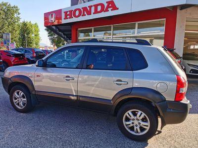 gebraucht Hyundai Tucson 2,0 CRDi VGT 4WD DPF Euro 2008 SUV / Geländewagen,