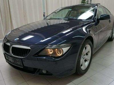 gebraucht BMW 630 i*M-PAKET-AUTOBAHNKILOMETER ** VOLLl **
