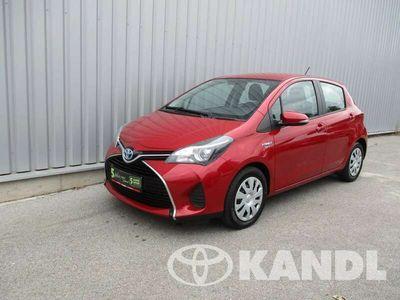 gebraucht Toyota Yaris 1.5 VVT-i Hybrid Active Klimaautomatik