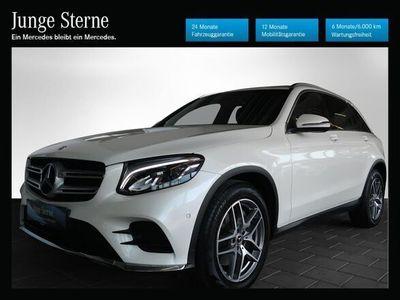 gebraucht Mercedes 220 GLC-Klasse GLC4MATIC Aut. SUV / Geländewagen