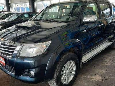 gebraucht Toyota HiLux 3,0 D-4D Automaik Leder SHZ AHK Rollo Netto 22.083