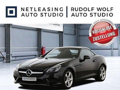 gebraucht Mercedes 200 SLCNavi+LED-ILS+Totw.+Pano+DAB+SHZ+Airscarf