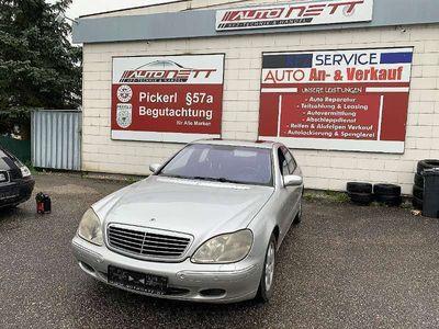 gebraucht Mercedes S400 S-KlasseCDI Aut.*Sitzbelüftung-/heizung*GSD*Navi*Rostfrei* Limousine