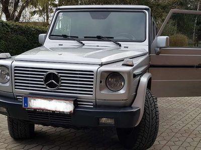 gebraucht Mercedes G270 G-KlasseCDI Vollservice - inkl. Motor - Kein Rost! SUV / Geländewagen