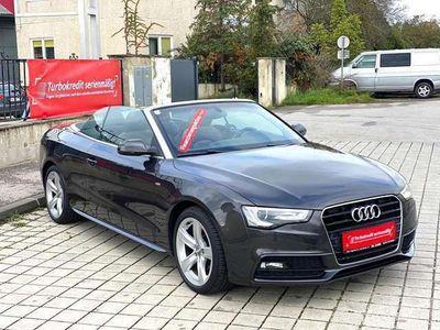 gebraucht Audi A5 Cabriolet Cabrio 1,8 TFSI Aut. * S-Line ab Werk * / Roadster