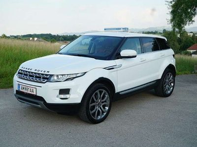 gebraucht Land Rover Range Rover evoque Prestige 2,2 SD4 Aut. SUV / Geländewagen