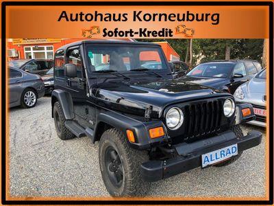 gebraucht Jeep Wrangler 4,0 Sport Hard Top Aut.LKW mit nur **70tkm**