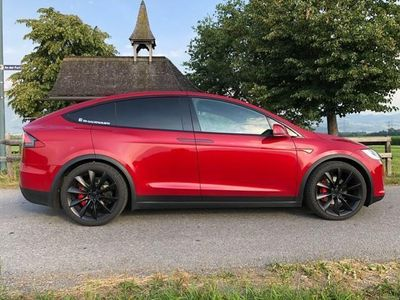 gebraucht Tesla Model X P90D Ludicrous Upgrade mit Sitzlüftung! Neuwertig!