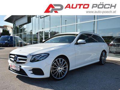 gebraucht Mercedes E220 T Aut. AMG-Line/Navi/MultibeamLED/Widescreen