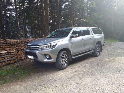 gebraucht Toyota HiLux 2,4 D-4D Doppelkabine Lounge