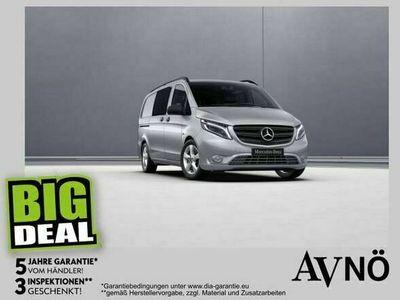 gebraucht Mercedes Vito 116 4x4 Mixto Lang Spur-P. Allrad Klima Limousine