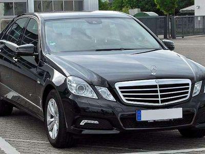 gebraucht Mercedes E200 E-KlasseElegance Leder Aut. Original Kilometerstand Limousine