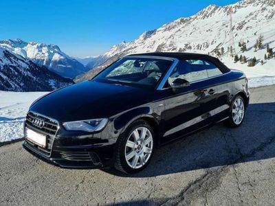 gebraucht Audi A3 Cabriolet 2,0 TDI quattro S-Line