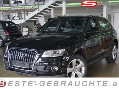 gebraucht Audi Q5 TDI 2,0 Quattro S-line Sportpaket / Exclusi SUV / Geländewagen,