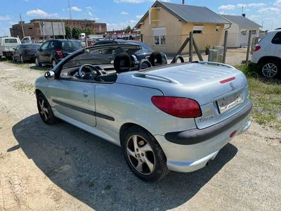 gebraucht Peugeot 206 CC 1,6 16V Cabrio, Klimaanlage