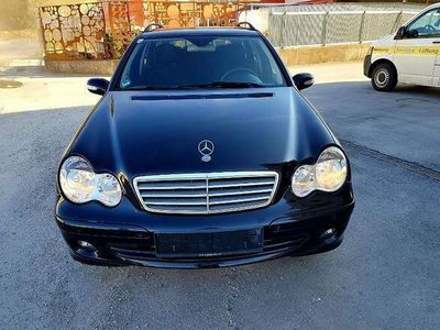 gebraucht Mercedes C200 C-KlasseT Elegance Sport CDI A-Edition Kombi / Family Van