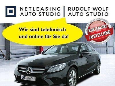 gebraucht Mercedes C220 d 4M Avantgarde+Advanced+Schiebed+DAB+Navi Klima