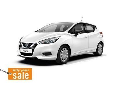 brugt Nissan Micra 1,0 VISIA AUDIO SAF Limousine,