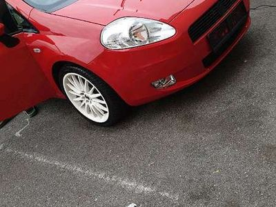 gebraucht Fiat Coupé Grande Punto 1.3 16V JDT Multujet 75 Dynamic Sportwagen /