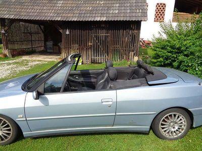 gebraucht Peugeot 306 Cabriolet 1,8 CABRIO - Benzin / Roadster