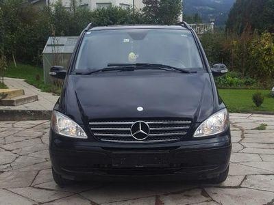 gebraucht Mercedes Viano Trend lang 2,2 CDI
